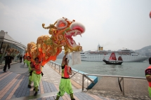 team building dragon dance