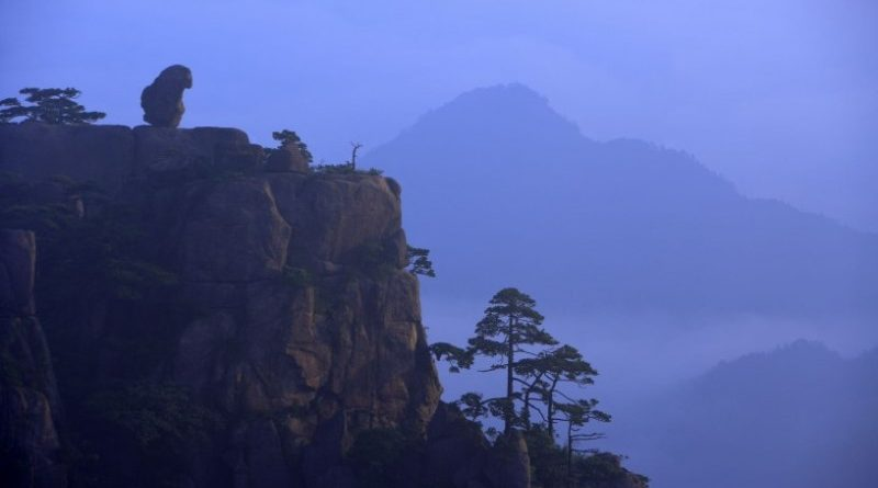 Mt Huangshan: Sea of Cloud, Pine Trees and Rocks