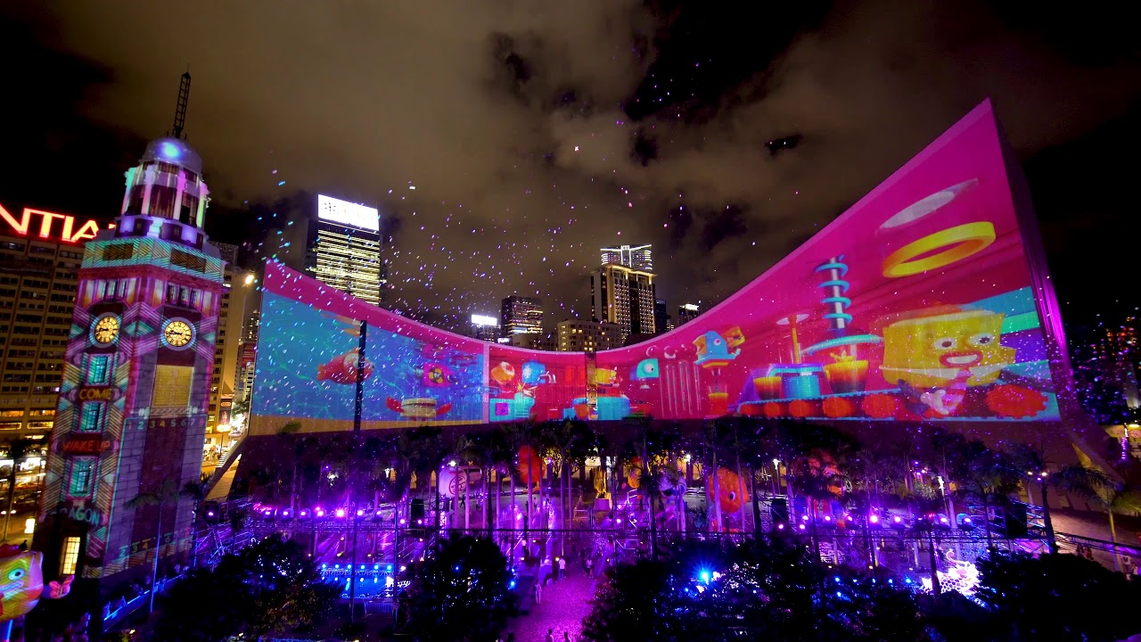 The Hong Kong Pulse Light Show