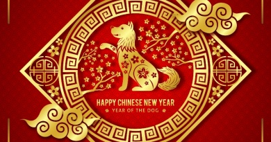 Welcome Year of the Dog